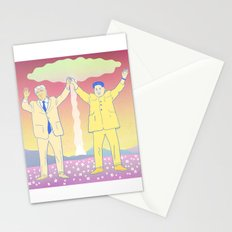 Put up your nukes Stationery Cards