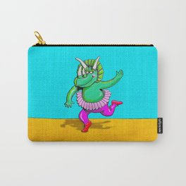 Sugarplum Triceratops Carry-All Pouch