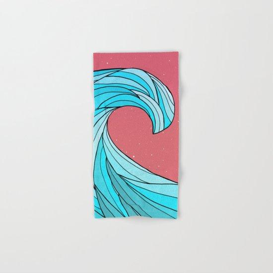 The Lone Wave Hand & Bath Towel