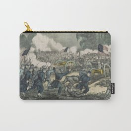 Vintage Battle of Gettysburg Illustration (1863) Carry-All Pouch