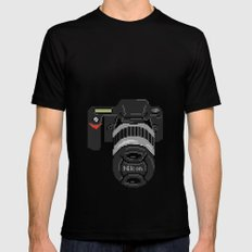 SLR SMALL Black Mens Fitted Tee