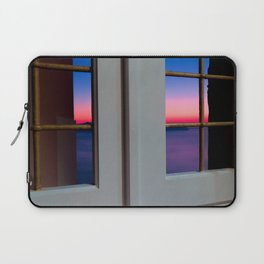 Sunset through the door Laptop Sleeve
