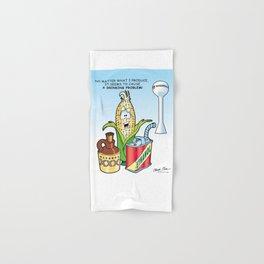 Ethanol & Alchohol Drinking Problem Hand & Bath Towel