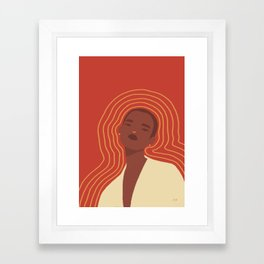 Emit Framed Art Print