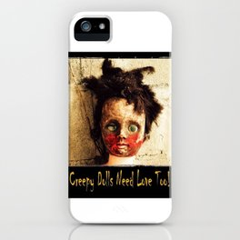 Creepy Doll iPhone Case