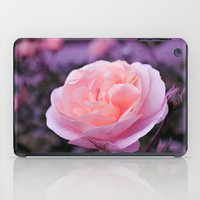 champagne iPad Cases featuring Champagne Rose by Lena Photo Art