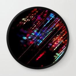 Meteor Rainbow Wall Clock