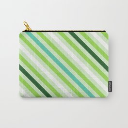 Simply Green Stripes Carry-All Pouch