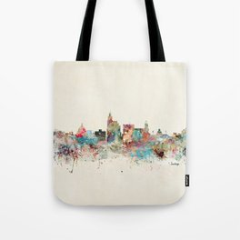 jackson mississippi skyline Tote Bag