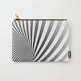 Illusion lines - Zebra Carry-All Pouch