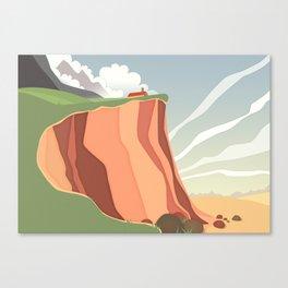 fairy landscape Canvas Print