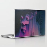 fringe Laptop & iPad Skins featuring Pink Fringe by DuckyB