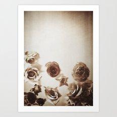 Falling Flower Variation II Art Print