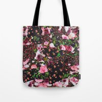 givenchy Tote Bags featuring Givenchy Multicolor Floral  by V.F.Store