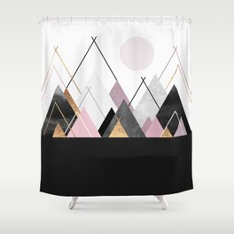 Nordic Mountains Shower Curtain
