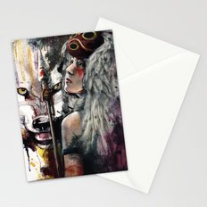 Mononoke San and The Spirit of the Wolf Stationery Cards