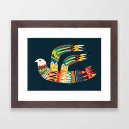 Native Bird Framed Art Print