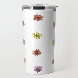 Multicolor Mini Daisies Travel Mug