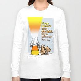 seeing a different light Long Sleeve T-shirt