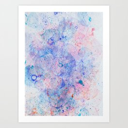 Abstract Artwork Colourful #10 Art Print