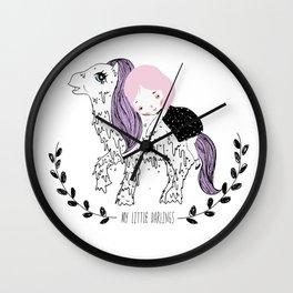 My Little Darlings Wall Clock