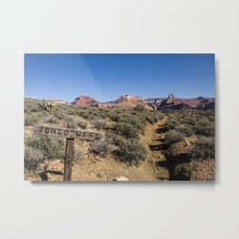 Tonto West Metal Print