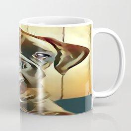 The Boxer Pup Coffee Mug