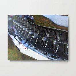 Grill Teeth Metal Print