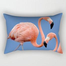 Flamingo Contrast #society6 #decor #buyart Rectangular Pillow