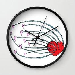 Love Feeds Love Wall Clock