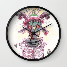 Lively Death Wall Clock