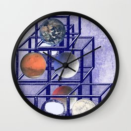Boxed in- civiliations . Part 1. Wall Clock
