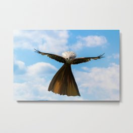 Don't mess with Misses Eagle Metal Print