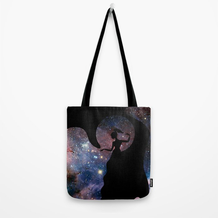 Galaxy From Within Tote Bag