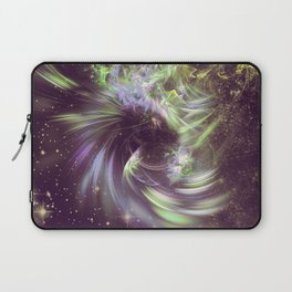 Twisted Time - Black Hole Effects Laptop Sleeve