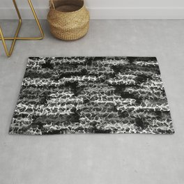 Spidery Lines Inverse Rug