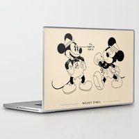 snatch Laptop & iPad Skins featuring Mickey O'Neil by Woah Jonny