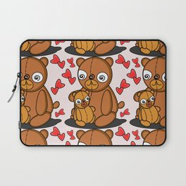 Mom's Bear Love Laptop Sleeve