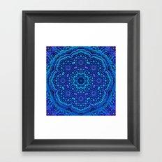 Mandala by Moonlight Framed Art Print