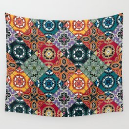 DESEO BOLD spanish tiles Wall Tapestry