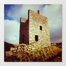 Cornish Engine House Canvas Print