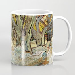 Street with trees - Vincent van Gogh Coffee Mug