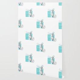 Blue Jewellry Box Wallpaper
