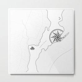 Taunton River Metal Print