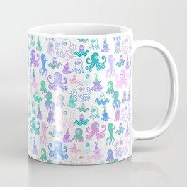 Octopus party Coffee Mug
