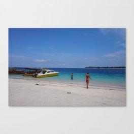 Gili T Beach #1 Canvas Print