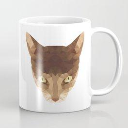 triangular cat Coffee Mug