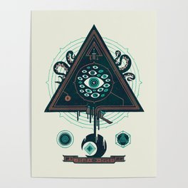 All Seeing Poster