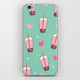Boba Tea Love iPhone Skin