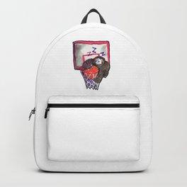 sloth playing basket Backpack